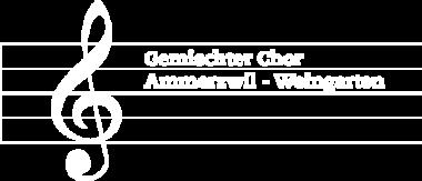 Gemischter Chor Ammerzwil-Weingarten Logo